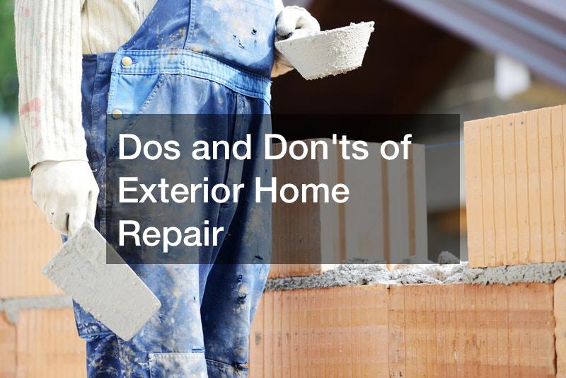 DIY exterior home improvements